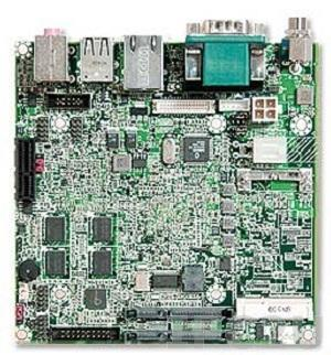 NANO-6040L-1600-1024 Процессорная плата Nano-ITX низкопрофильная Intel Atom E680T 1.6ГГц с VGA, LVDS, 1Гб DDR2, Gb LAN, Mini PCIe, 1xSD, 2xSATA, 6xUSB, Audio, 1xPCI-Ex1