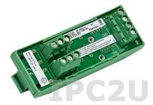 SCM7BP02 Плата клеммников для установки 2 модулей нормализаторов сигналов серии SCM7B, до 50В