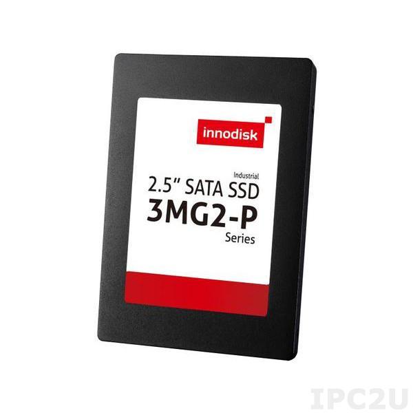 """DGS25-01TD81SWAQC Твердотельный накопитель SSD 1Тб 2.5"""" Innodisk 3MG2-P SSD, SATA 3, MLC, Чтение/запись 520/450 Мбит/с, рабочий диапазон -40..+85 C"""