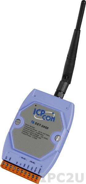 SST-2450 Радиомодем с интерфейсом RS-232/485, частота 2,4 ГГц, 0.05Вт