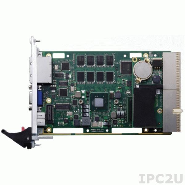 cPCI-EX3615/D525/M2G Процессорная плата 3U/1 Slot CompactPCI Intel Atom D525, 2Гб DDR, VGA, 2xGB LAN, 1xCOM, 4xUSB, -40...+85C