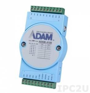 ADAM-4150-AE Модуль ввода-вывода, 7 каналов дискретного ввода, 8 каналов дискретного вывода, Modbus RTU/ASCII