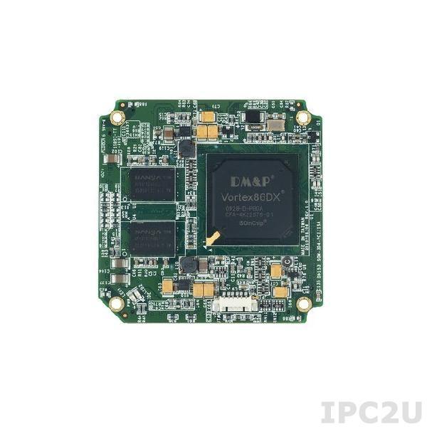 SOM304SX31PINE1 Процессорный модуль SOM304 Vortex86SX 300МГц с ОЗУ 128Мб DDR2, 4xCOM, 4xUSB, LAN, 2xGPIO