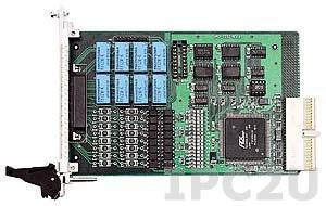 cPCI-7252 Плата ввода-вывода 3U cPCI, 8 каналов DI, 8 каналов релейного вывода с изоляцией, с расширением