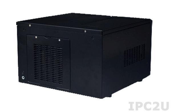 """ARK-6610-00XBE Компактный встраиваемый корпус для материнской платы Mini-ITX, 1x3.5"""", 1xslim 5.25"""", без источника питания"""