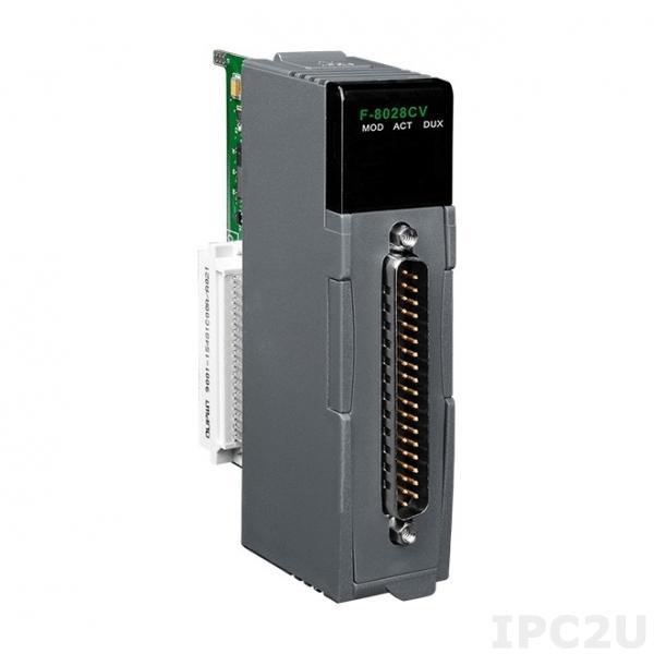 F-8028CV Модуль ввода-вывода, 8 каналов AO, 16 бит, изоляция