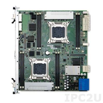 aTCA-6250/D2658 Процессорная плата AdvancedTCA, 2xIntel Xeon E5-2658 2.1 ГГц, DDR3 RDIMM 240-pin VLP