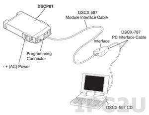DSCX-887 Адаптер для программирования DSCP20/DSCP80