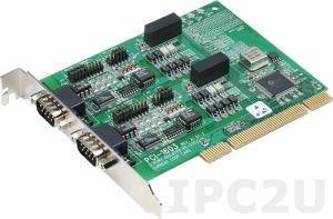 PCI-1603-BE Universal PCI адаптер 2xRS-232 921.6 Кбод c защитой от перенапряжения и гальванической изоляцией, без кабеля