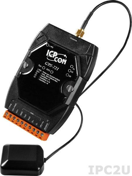 GPS-721 Модуль-приемник GPS с выходами 1xDO, 1xPPS, GPS-антенна ANT-115-03, DCON