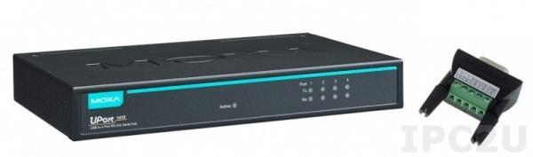 UPort 1410 4-портовый конвертер USB в RS-232