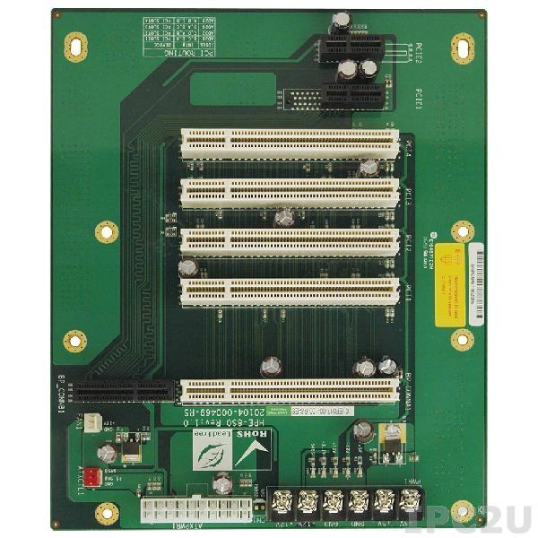 HPE-8S0 Объединительная плата PICOe 7 слотов с 1xPICOe, 4xPCI, 2xPCIe x1