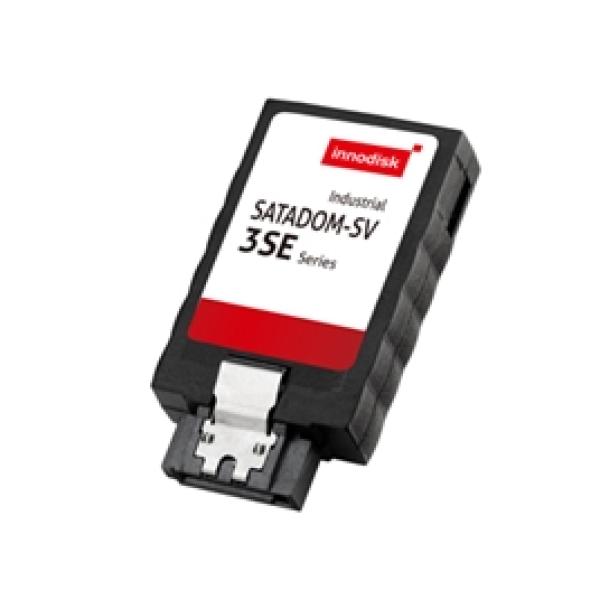 DESSV-32GD07SCADBF Карта флеш-памяти 16Гб Innodisk SATADOM-SV 3SE, SATA 3, VCC Pin7, SLC, вертикальный DiskOnModule, чтение/запись 300 / 130 MB/s, 0..+70 C