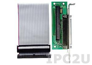 ADP-37/PCI Переходная плата с разъема IDC-50 на DB-37 для слота PCI
