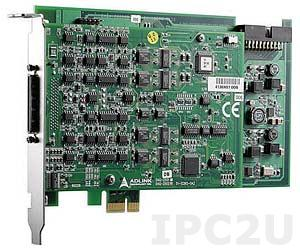 DAQe-2213 Плата ввода-вывода PCI-Express, 16SE/8DI каналов AI 16 бит 250 кГц, 24 канала DIO TTL, 2-канальный 16 бит таймер/счетчик, FIFO