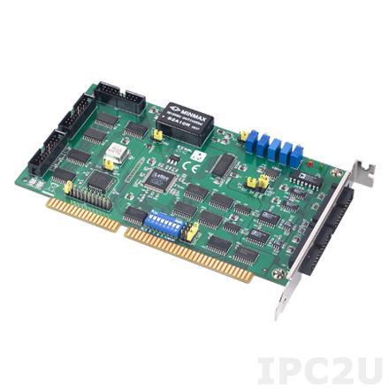 PCL-812PG-CE Плата ввода-вывода ISA, 16SE AI, 2AO, 16DI, 16DO