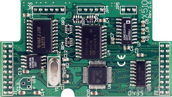 X510-128 Модуль RS-232, 5 DI,5 DO, 128K EPROM, для I-7188XB/EX/XG/EG
