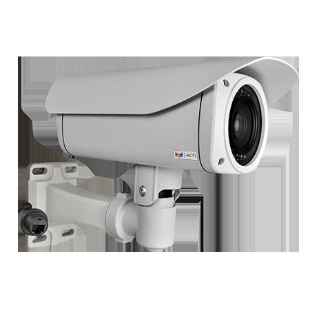 B44 1.3 МП цилиндрическая IP-камера, моторизованный трансфокатор f4.9-49мм/F1.8-3.0, 10х оптич. увеличение, DC диафрагма, H.264, 720p/30 кадр/сек, день/ночь, адапт. ИК подсветка, WDR, DNR, Аудио, Micro SDHC/SDXC, PoE/DC12В,