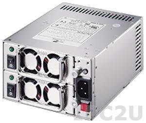 ZIPPY MRT-6300P Дублированный Mini Redundant источник питания PS/2 ATX переменного тока 300+300Вт, ATX12V, с PFC