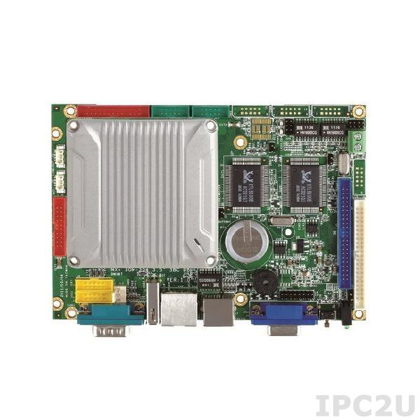 "VMXP-6426-3BS1 Процессорная плата 3.5"" Vortex86MX+ 800МГц с 512Мб DDR2 RAM, VGA/LCD/LVDS, 3xLAN, 3xCOM, 4xUSB, GPIO, AUDIO, CompactFlash Socket, PWMx16, 512Мб NAND Flash"