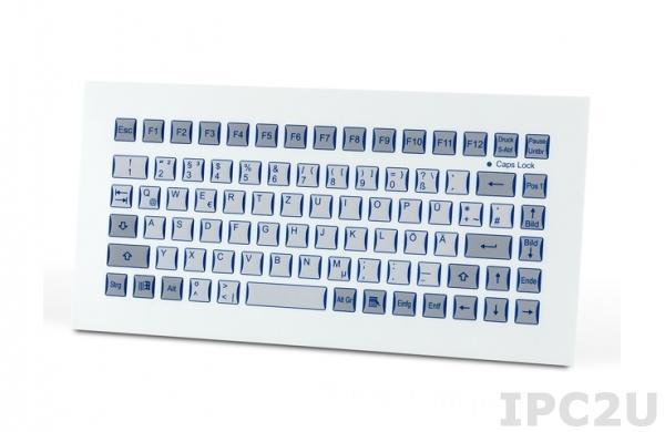 TKF-085b-MODUL-USB Встраиваемая промышленная IP65 клавиатура, 85 клавиш, USB