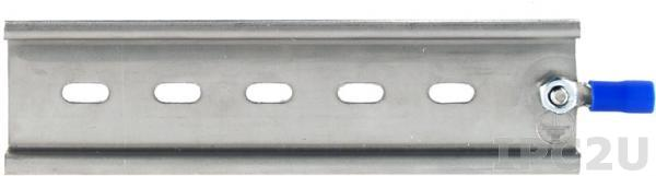 DRS-125 Стальная DIN-рейка, 35 мм, Длина 12.5 см