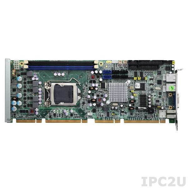 SHB108VGGA Процессорная плата PICMG 1.3, LGA1155 Socket, Intel Xeon/Core i7/i5/i3, чипсет C206 PCH, 2x 240-pin DDR3-1066/1333, 1x VGA, 4x SATA-300, 2x SATA-600, 1x FDD, 2x PS/2, 1x LPT, 2x COM, 10x USB 2.0, 2xGbit LAN, Audio, x4 BIOS