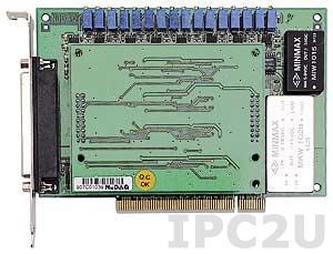 PCI-6208A Плата ввода-вывода PCI, 8 канала AO 16 бит, 4 каналов DI, 4 каналов DO, TTL