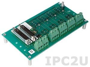 SCM7BP04 Плата клеммников для установки 4 модулей серии SCM7B