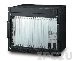 PXIS-3320 9U PXI/CompactPCI корпус с 6U 14-слотовой пассивной объединительной платой 32, источник питания 500 Вт