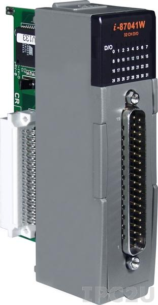 I-87041W Высокопрофильный 32-канальный модуль дискретного вывода с изоляцией