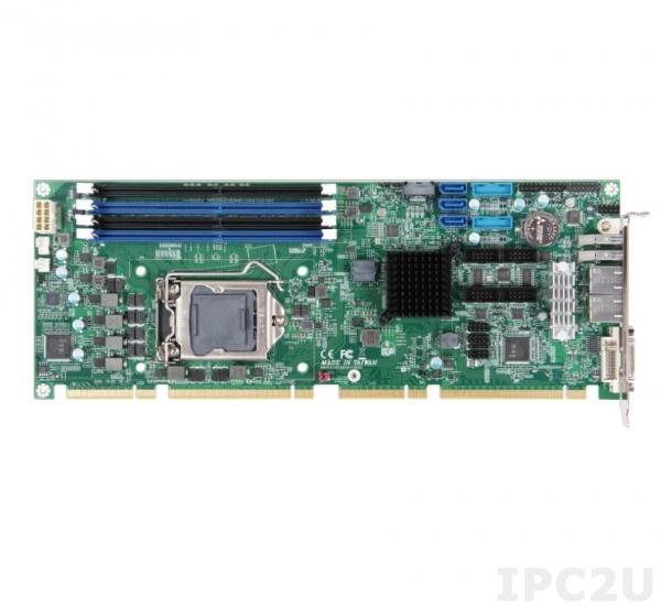 ROBO-8115VG2AR-Q470E Процессорная плата PICMG 1.3 с сокетом LGA1200 для Intel Xeon/Core i7/i5/i3/Pentium/Celeron, Q470E, DDR4, DVI-I (DVI-D+VGA), HDMI, 2xGbE LAN, 4xCOM, 6xUSB 3.2, 4xUSB 2.0, 5xSATA 3, Audio