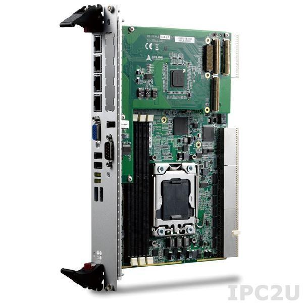 cPCI-6930D/2448/M12G Процессорная плата 6U CompactPCI c Intel Xeon E5-2448L, 12ГбDDR3-1333 RDIMM, GbE x4, USB2.0 x3, USB3.0 x2, VGA, COM, SATA, PMC/XMC