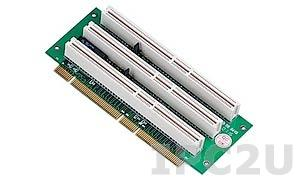 GHP-R0302 Объединительная Riser плата 3xPCI-X слота, 64бит 5В, для корпусов 2U