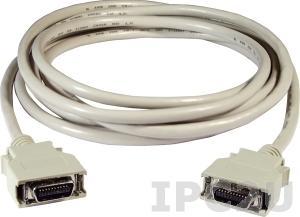 CA-SCSI20-M3 Соединительный кабель SCSI II 20-pin в 20-pin Male, 3 M, Для двигателя Mitsubishi, ПВХ, 15В