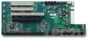 EBP-5E1 Объединительная плата PICMG с 1xPICMG, 1xPCI-Express x16, 1xPCI-X, 2xPCI слотами