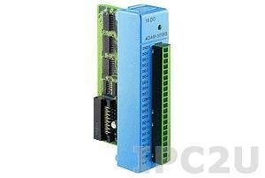 """ADAM-5056SO-AE Модуль дискретного вывода, 16 каналов с индикацией состояния, тип выхода открытый коллектор """"sourse"""", макс. ток нагрузки 200 мА"""