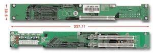 PBP-03P2X Вертикальная объединительная плата PICMG 3 слота с 2xPCI для 1U корпусов