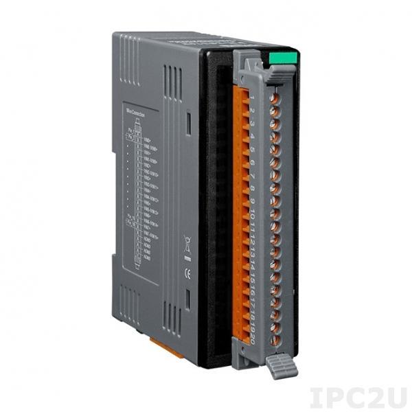 FR-2017iT Модуль ввода, 8/16-каналов аналогового ввода с изоляцией и защитой от высокого напряжения, FRnet