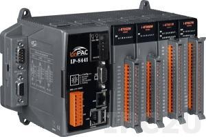LP-8441-FDA-LP ISaGRAF 6 PC-совместимый промышленный контроллер Intel PXA270 520МГц, 128Mб SDRAM, 32Мб/48Mб Flash, 2xRS-232, 1xRS-485, 1xRS-232/485, 2xEthernet, Linux 2.6.19, 4 слота расширения, ISaGRAF 6 (исполнительная и инструментальная системы)