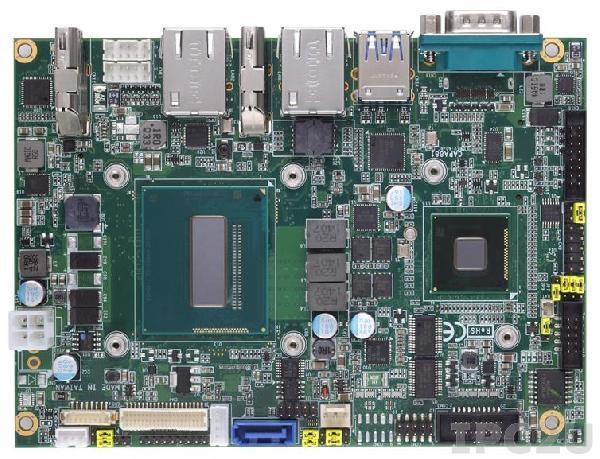 """CAPA881VHGGA-i5-4402E-QM Процессорная плата формата 3.5"""" с Intel Core i5-4402E 1.6ГГц, чипсет Intel QM87, DDR3, VGA/LVDS/HDMI, 2xLAN, 4xCOM, 6xUSB, Audio, iAMT"""