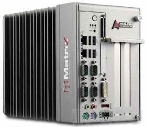 MXC-6201D/M4G Безвентиляторный встраиваемый компьютер с процессором Intel Core i7-620LE 2.0ГГц, чипсет Intel QM57, 4Гб DDR3, VGA+DVI-D, 2xGB LAN, 1xPCI, 1xPCIe, 16 каналов дискретного ввода, 16 каналов дискретного вывода