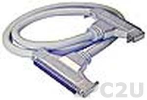 ACL-102150-2 Кабель SCSI-100 в MINI SCSI-100, 2м, для cPCI-7452, ПВХ, до 50В
