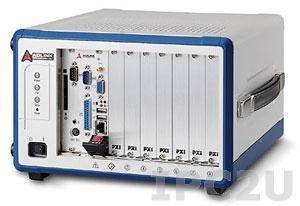 PXIS-2508 Корпус PXI для систем 3U с 8-слотовой объединительной платой и источником питания AC 350Вт