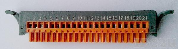 4PCA-EB21G Планка-переходник для модулей I-8K,87k, 21pin, до 50В