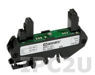 8BP01-224 Плата клеммников для установки 1 модуля нормализатора сигналов серии 8B, питание 24 В