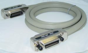 ACL-IEEE488-1 Кабель с разъемами 24-pin IEEE488, 1м, изоляция ПВХ, 50 В