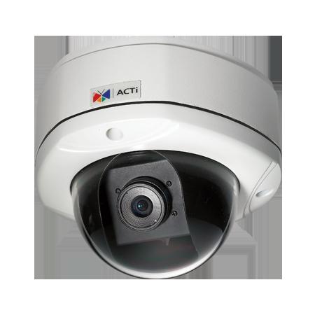 KCM-7111 4 МП уличная вандалозащищенная купольная IP-камера, f2.8мм/F2.0, H.264, 1080p/15кадр/сек, день/ночь, DNR, Аудио, Micro SDHC/SDXC, PoE/DC12В, IP66, -40C...+50C