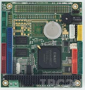 VDX-6350RDE Процессорная плата PC/104 с процессором Vortex86DX 800MHz, 256MB RAM, LAN, 4xCOM, 2xUSB, GPIO, рабочая температура -20..70 С