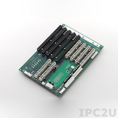 PCA-6108P4-0C2E Объединительная плата PICMG, 8 слотов с 2xPICMG/3xISA/3xPCI